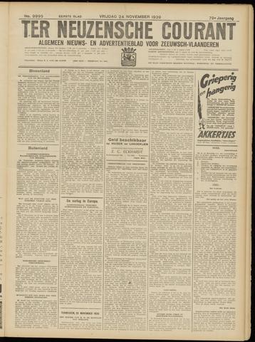 Ter Neuzensche Courant. Algemeen Nieuws- en Advertentieblad voor Zeeuwsch-Vlaanderen / Neuzensche Courant ... (idem) / (Algemeen) nieuws en advertentieblad voor Zeeuwsch-Vlaanderen 1939-11-24