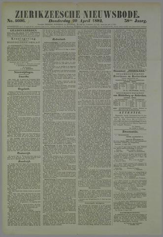 Zierikzeesche Nieuwsbode 1882-04-20