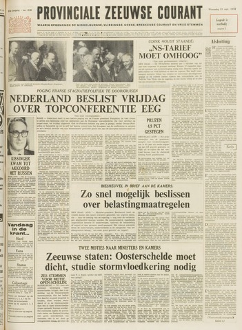Provinciale Zeeuwse Courant 1972-09-13