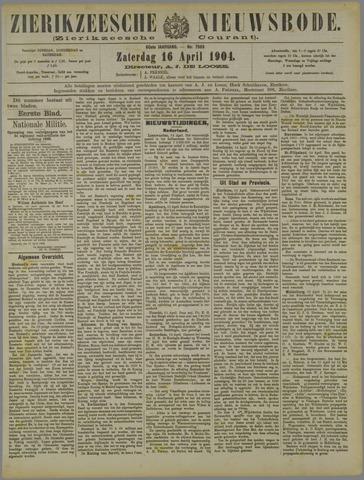 Zierikzeesche Nieuwsbode 1904-04-16