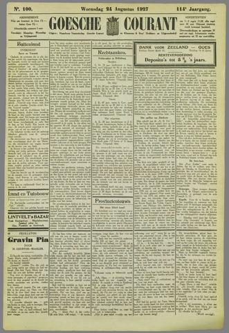 Goessche Courant 1927-08-24