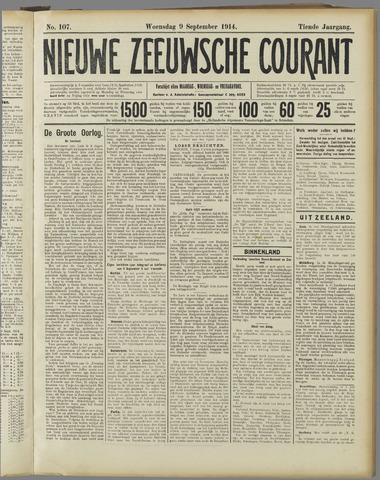 Nieuwe Zeeuwsche Courant 1914-09-09