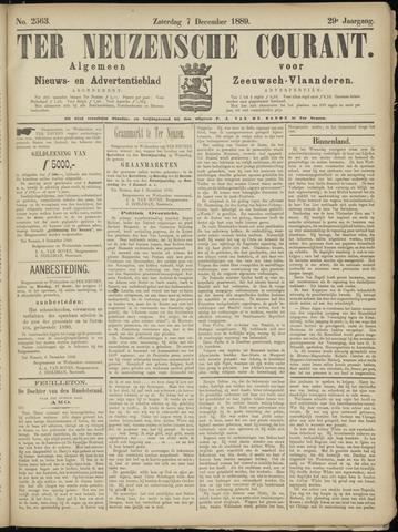 Ter Neuzensche Courant. Algemeen Nieuws- en Advertentieblad voor Zeeuwsch-Vlaanderen / Neuzensche Courant ... (idem) / (Algemeen) nieuws en advertentieblad voor Zeeuwsch-Vlaanderen 1889-12-07