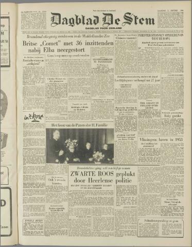 de Stem 1954-01-11