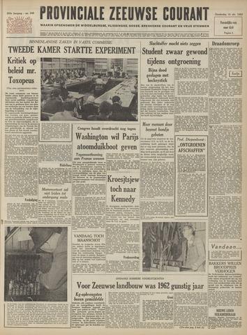 Provinciale Zeeuwse Courant 1962-10-18