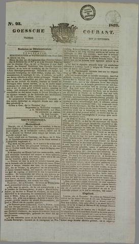 Goessche Courant 1839-11-22