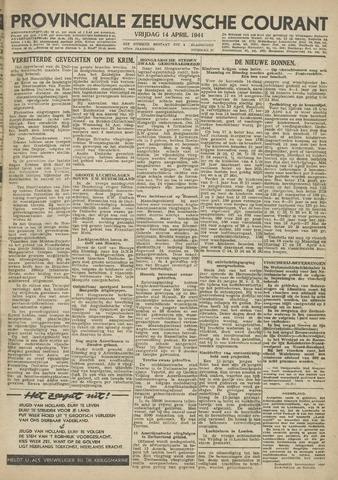 Provinciale Zeeuwse Courant 1944-04-14