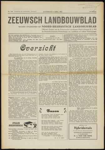 Zeeuwsch landbouwblad ... ZLM land- en tuinbouwblad 1953-04-04