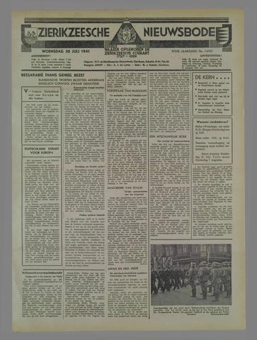 Zierikzeesche Nieuwsbode 1941-07-24