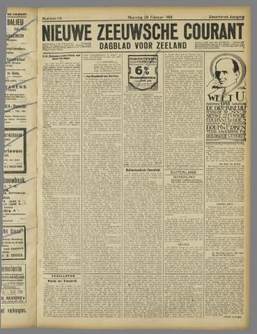 Nieuwe Zeeuwsche Courant 1921-02-28