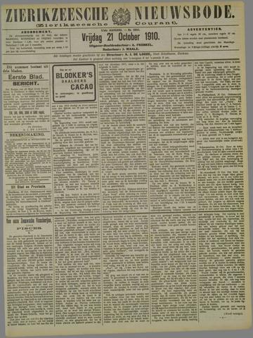Zierikzeesche Nieuwsbode 1910-10-21