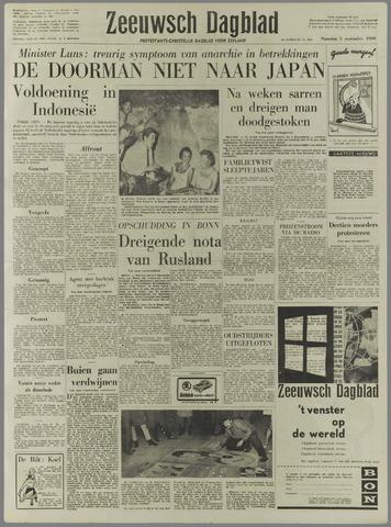 Zeeuwsch Dagblad 1960-09-05