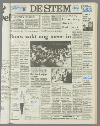 de Stem 1980-10-25