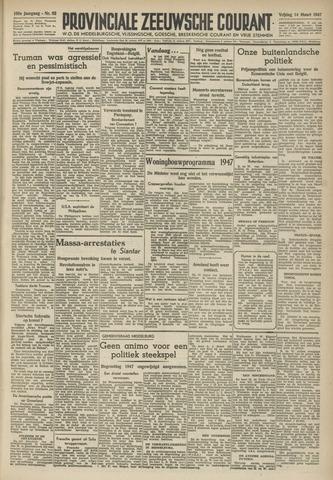 Provinciale Zeeuwse Courant 1947-03-14