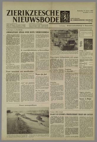 Zierikzeesche Nieuwsbode 1963-01-17