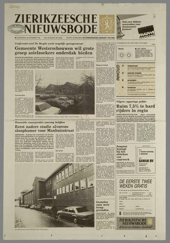 Zierikzeesche Nieuwsbode 1991-11-28