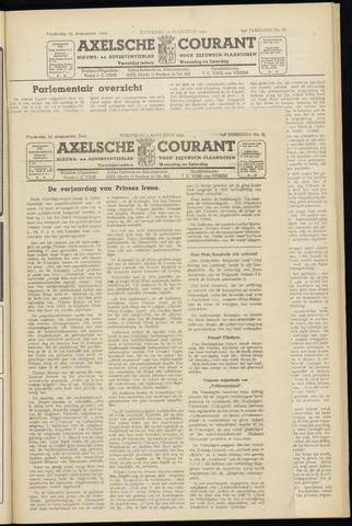 Axelsche Courant 1950-08-09