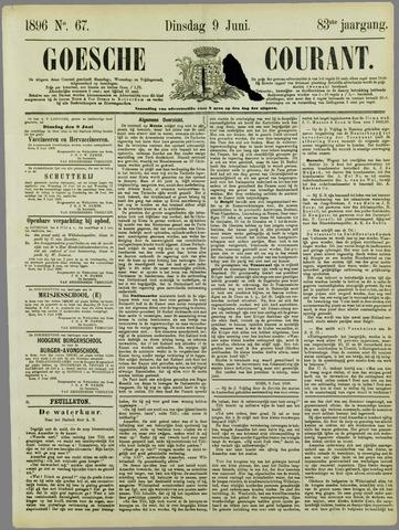Goessche Courant 1896-06-09