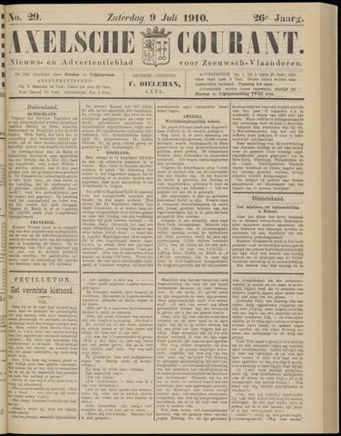 Axelsche Courant 1910-07-09