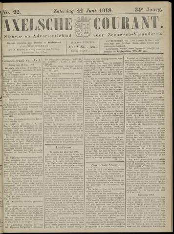 Axelsche Courant 1918-06-22
