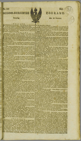Middelburgsche Courant 1817-10-18