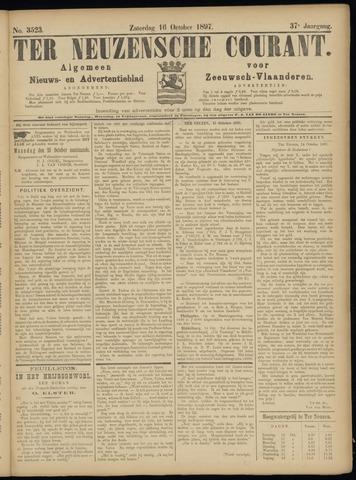 Ter Neuzensche Courant. Algemeen Nieuws- en Advertentieblad voor Zeeuwsch-Vlaanderen / Neuzensche Courant ... (idem) / (Algemeen) nieuws en advertentieblad voor Zeeuwsch-Vlaanderen 1897-10-16