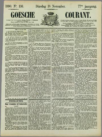 Goessche Courant 1890-11-18