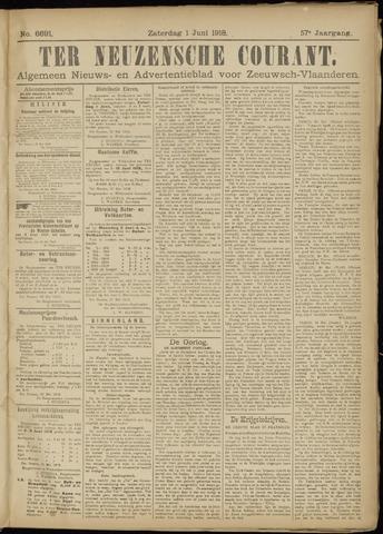 Ter Neuzensche Courant. Algemeen Nieuws- en Advertentieblad voor Zeeuwsch-Vlaanderen / Neuzensche Courant ... (idem) / (Algemeen) nieuws en advertentieblad voor Zeeuwsch-Vlaanderen 1918-06-01