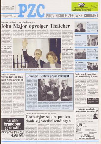 Provinciale Zeeuwse Courant 1990-11-28