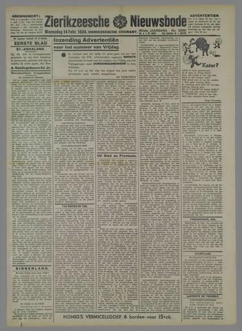 Zierikzeesche Nieuwsbode 1934-02-14