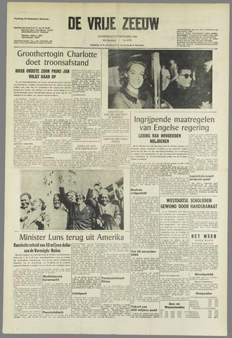 de Vrije Zeeuw 1964-11-12