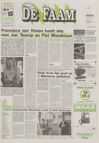 de Faam en de Faam/de Vlissinger 1992-09-16