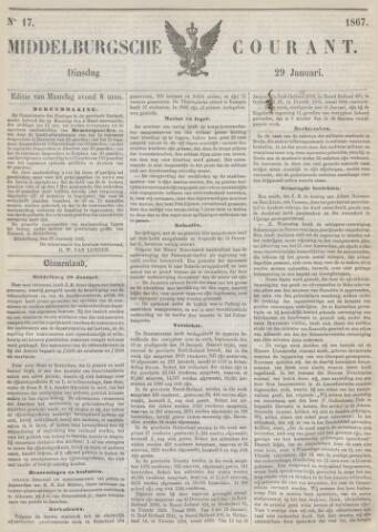 Middelburgsche Courant 1867-01-29