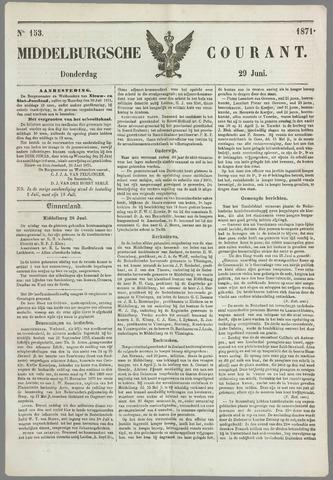 Middelburgsche Courant 1871-06-29