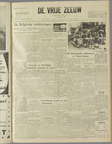 de Vrije Zeeuw 1961-03-27