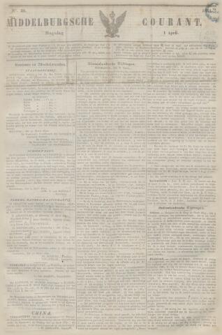 Middelburgsche Courant 1851-04-01