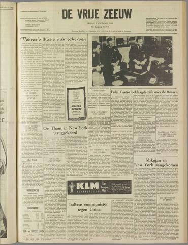 de Vrije Zeeuw 1962-11-02