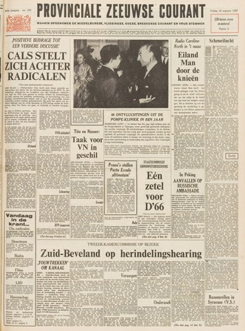 Provinciale Zeeuwse Courant 1967-08-18