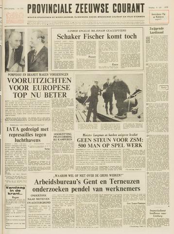Provinciale Zeeuwse Courant 1972-07-04