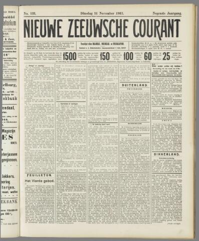 Nieuwe Zeeuwsche Courant 1913-11-11