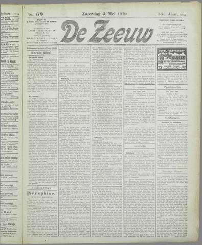 De Zeeuw. Christelijk-historisch nieuwsblad voor Zeeland 1919-05-03