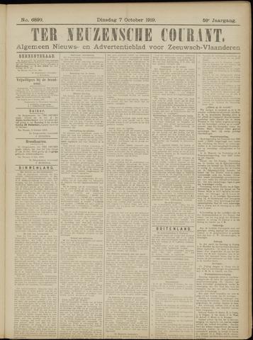 Ter Neuzensche Courant. Algemeen Nieuws- en Advertentieblad voor Zeeuwsch-Vlaanderen / Neuzensche Courant ... (idem) / (Algemeen) nieuws en advertentieblad voor Zeeuwsch-Vlaanderen 1919-10-07