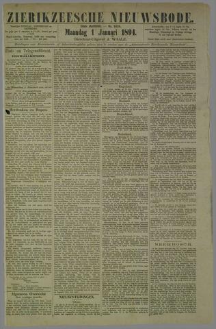 Zierikzeesche Nieuwsbode 1894