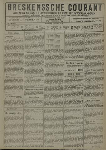 Breskensche Courant 1928-10-03