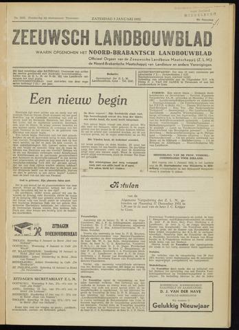 Zeeuwsch landbouwblad ... ZLM land- en tuinbouwblad 1952-01-05