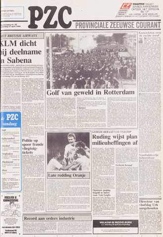 Provinciale Zeeuwse Courant 1989-04-27