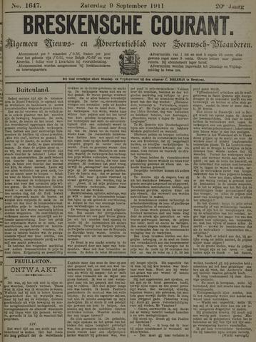 Breskensche Courant 1911-09-09