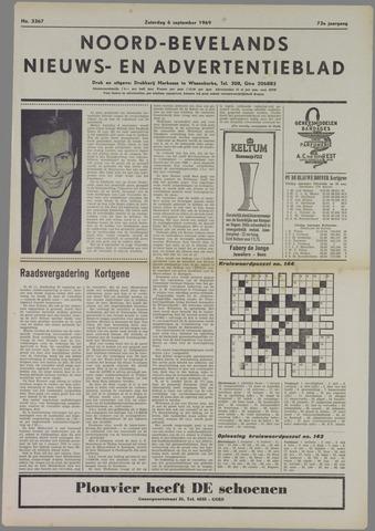 Noord-Bevelands Nieuws- en advertentieblad 1969-09-06