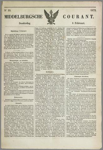 Middelburgsche Courant 1872-02-08