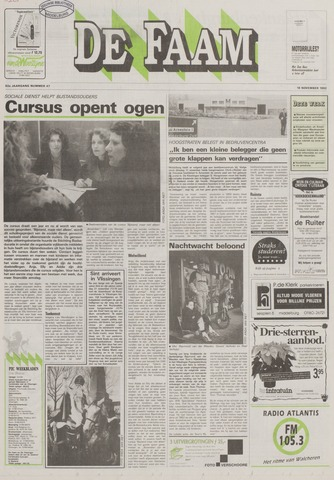 de Faam en de Faam/de Vlissinger 1992-11-18